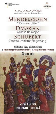 Corul Din Freiburg Germania Concerte Fest Md